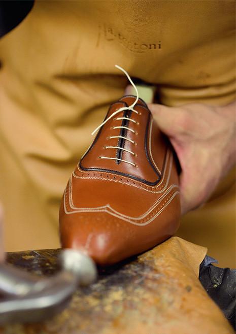 福岡 靴磨き ア・テストーニ