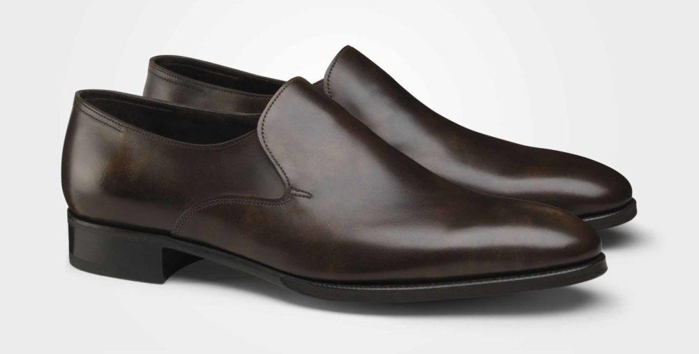 福岡 靴みがき ジョンロブ