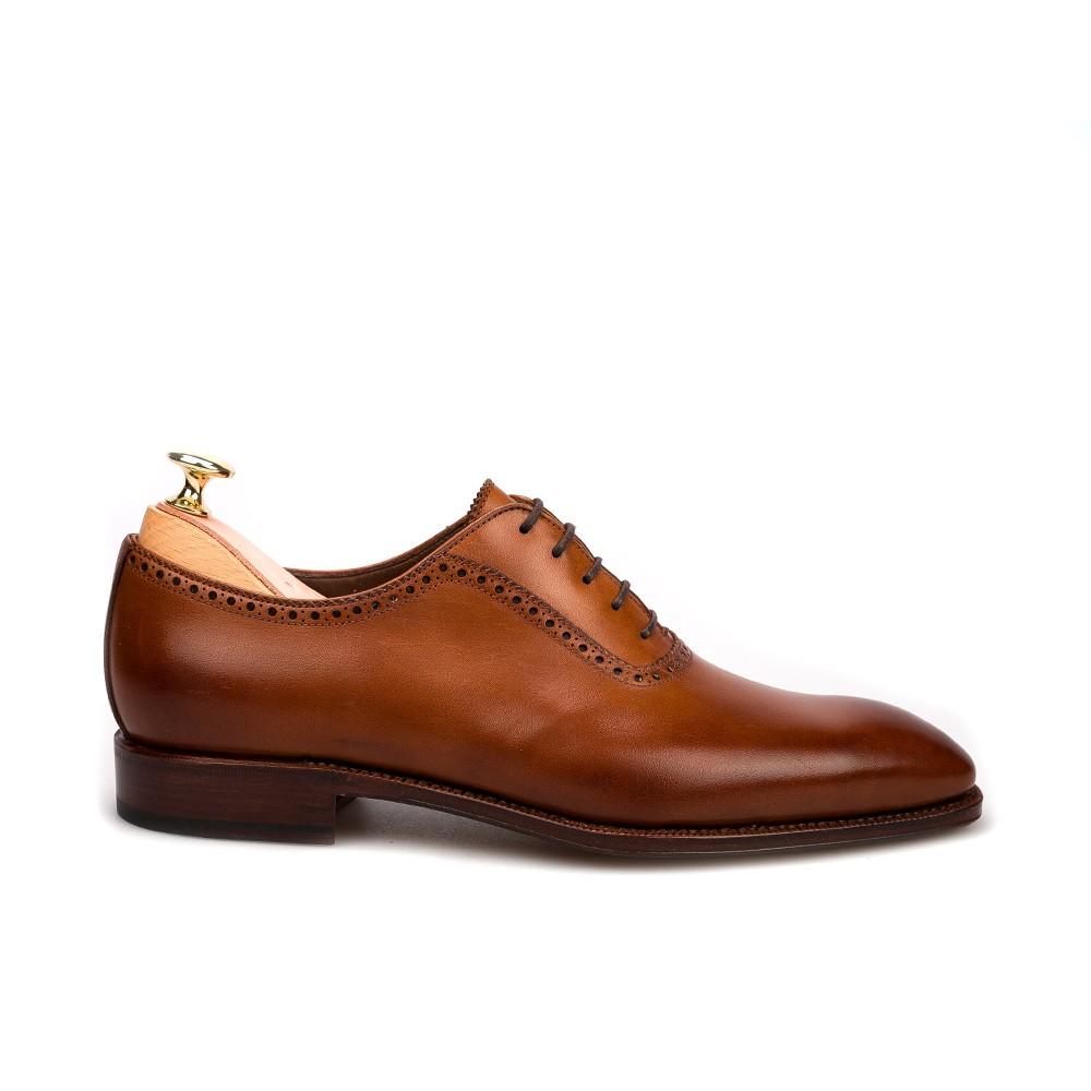 福岡 靴磨き カルミナ