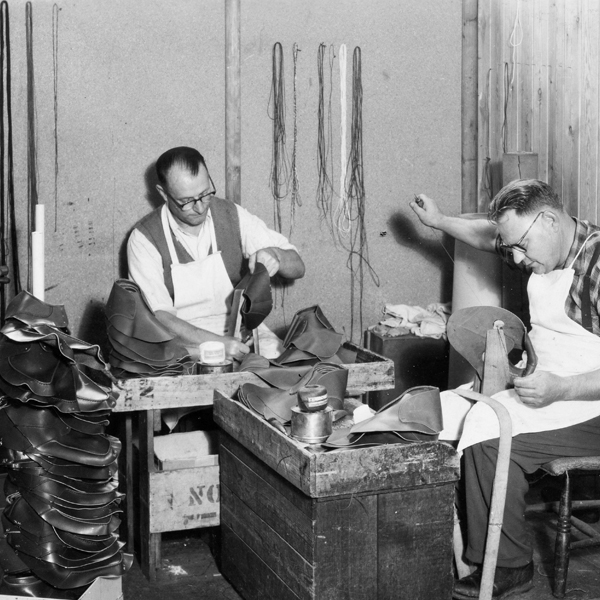 福岡 靴磨き Grenson
