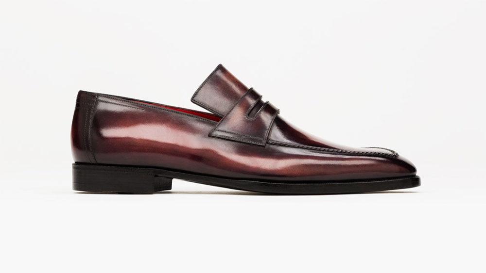 福岡 靴磨き ベルルッティ