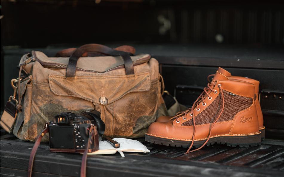 福岡 靴磨き ダナー