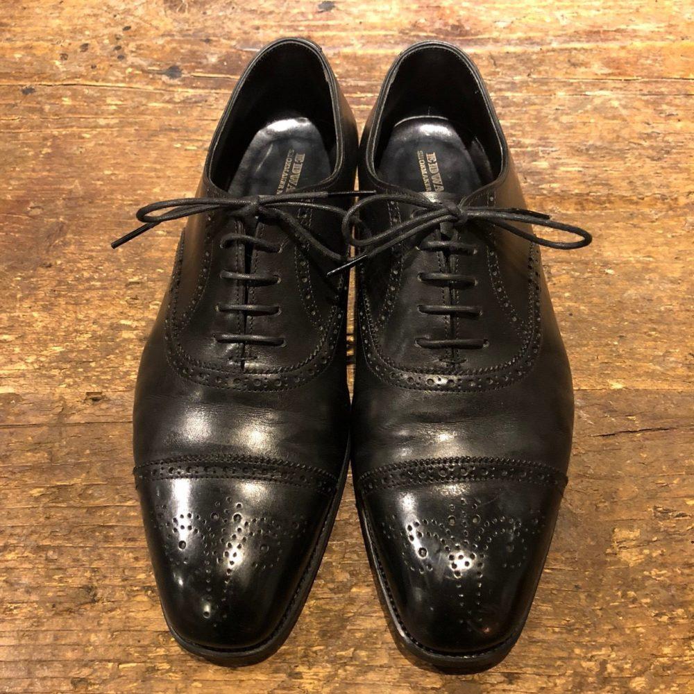 福岡 靴磨き エドワードグリーン