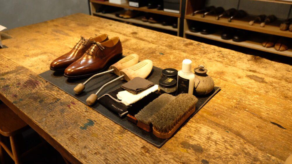 靴磨き講習会